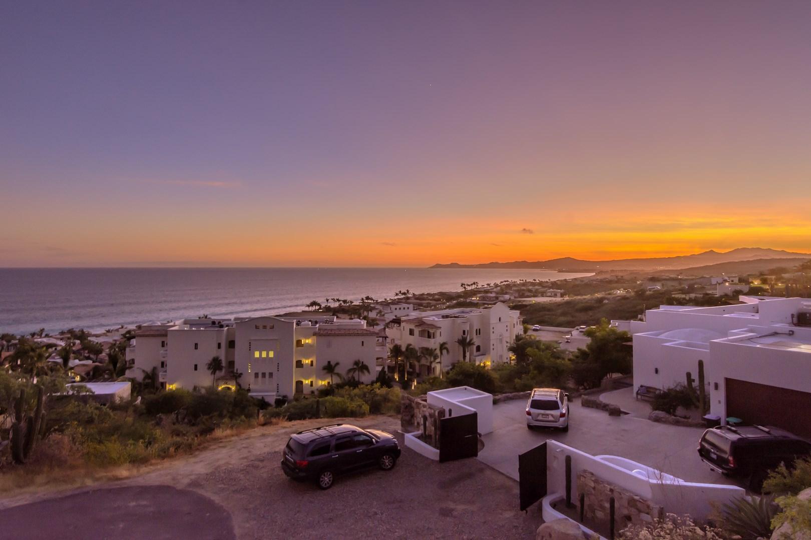 Palmilla Point at sunset