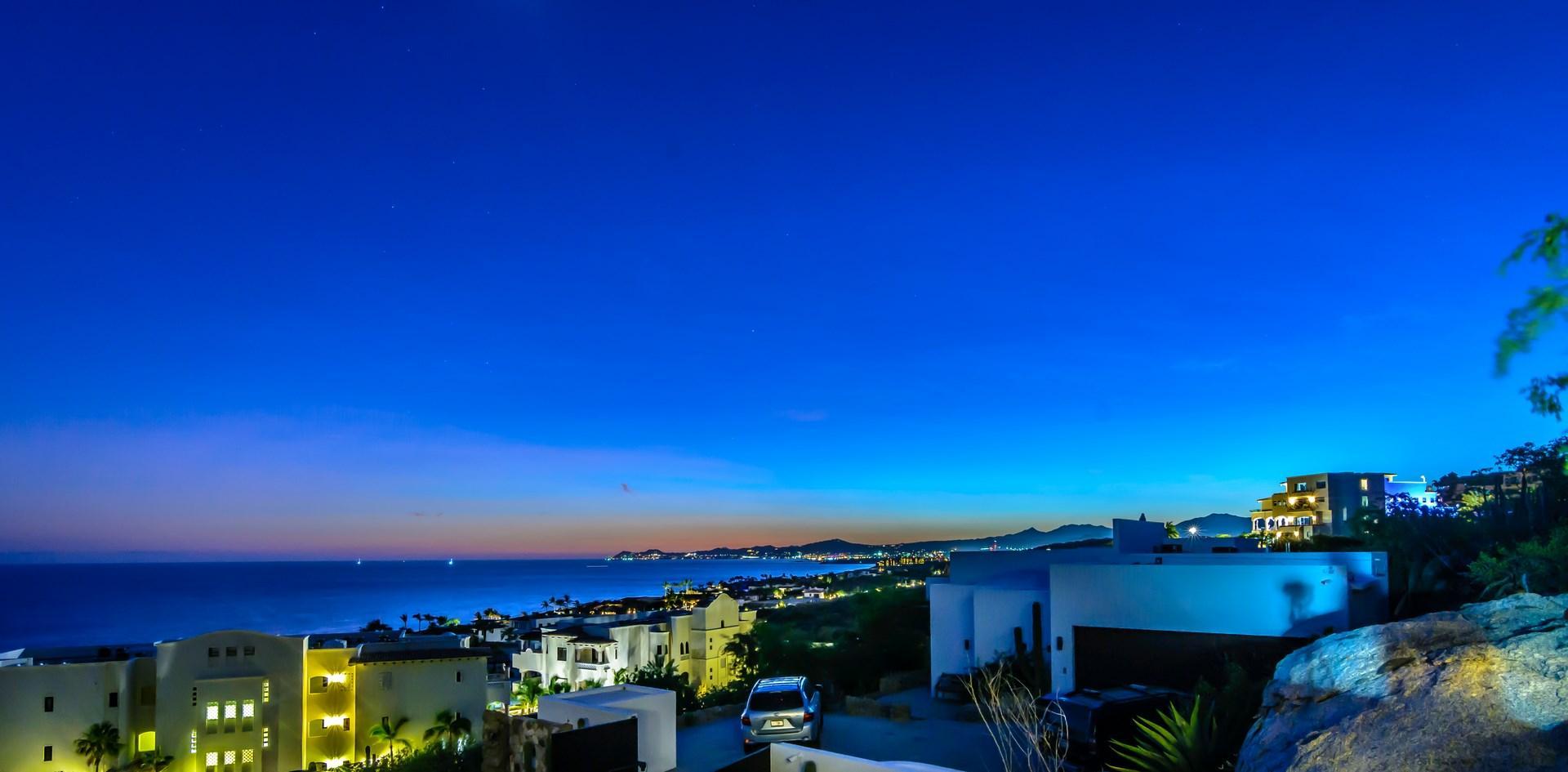 Sunset at Casa Laguna Linda