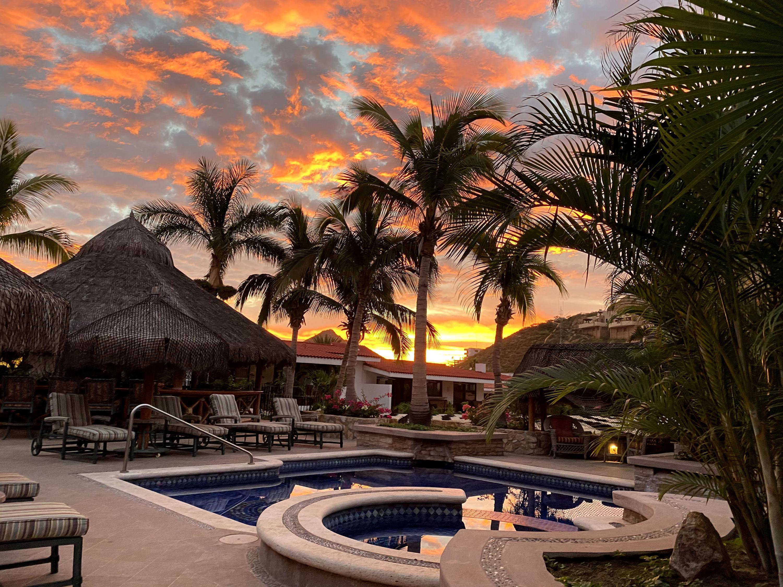 Andalaya Pool at Sunset