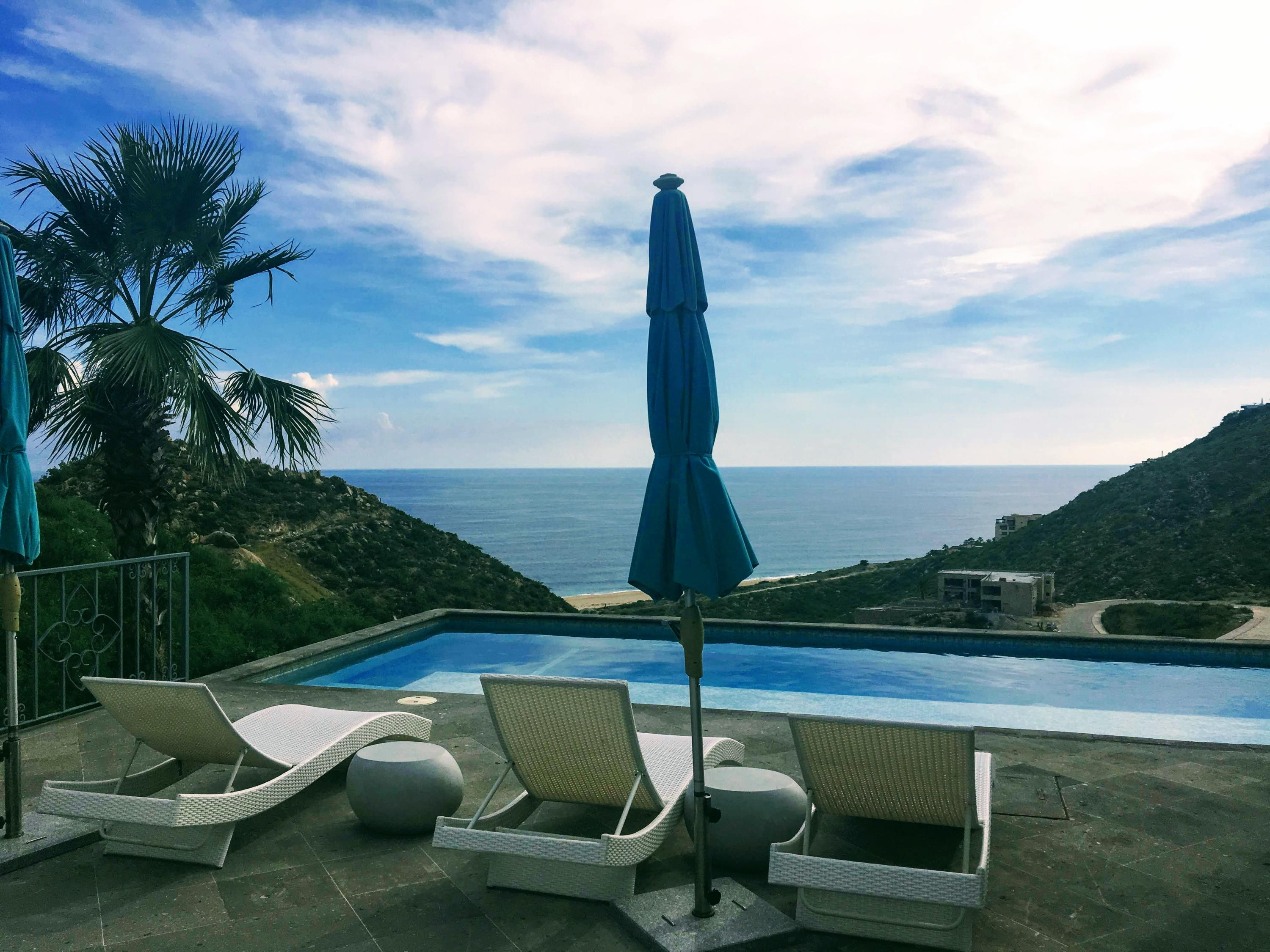 Spa of Pedregal Lap Pool and View