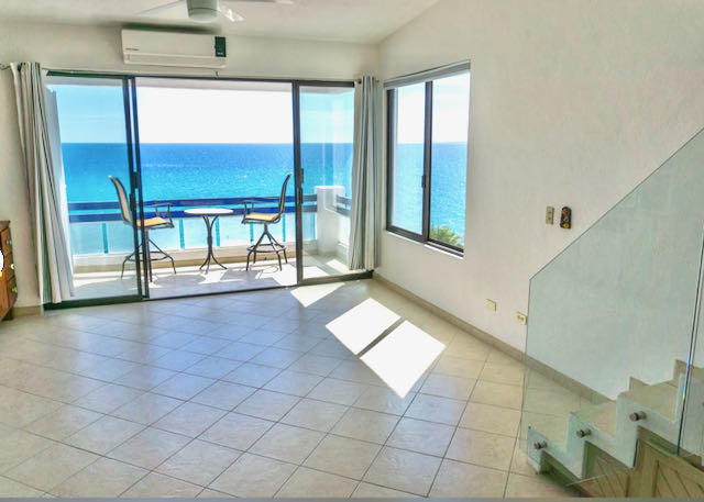 Beautifully remodeled condo on a gorgeous stretch of beach overlooking the Sea of Cortez. Newer tile floors and appliances, fresh paint, granite counter tops and a stunning glass hand rail make this unit unique and special. Thoughtfully chosen finishes offer a luxury feel with low maintenance. There are only 2 flights (~30 total steps) to enjoy this amazing ocean view. The sandy beach is safe for swimming, kayaking, SUP, or just lounging and soaking up the sun. The pool has a covered BBQ area that's perfect for entertaining. A 200 square foot garage is also included so you can have easy access to all your toys and a safe place to put the car when you leave. If you're interested in an investment property, this would be a popular rental, easily paying for its own expenses and upkeep. The Mar y Sol complex is well-maintained and easy to access off hwy 1.
