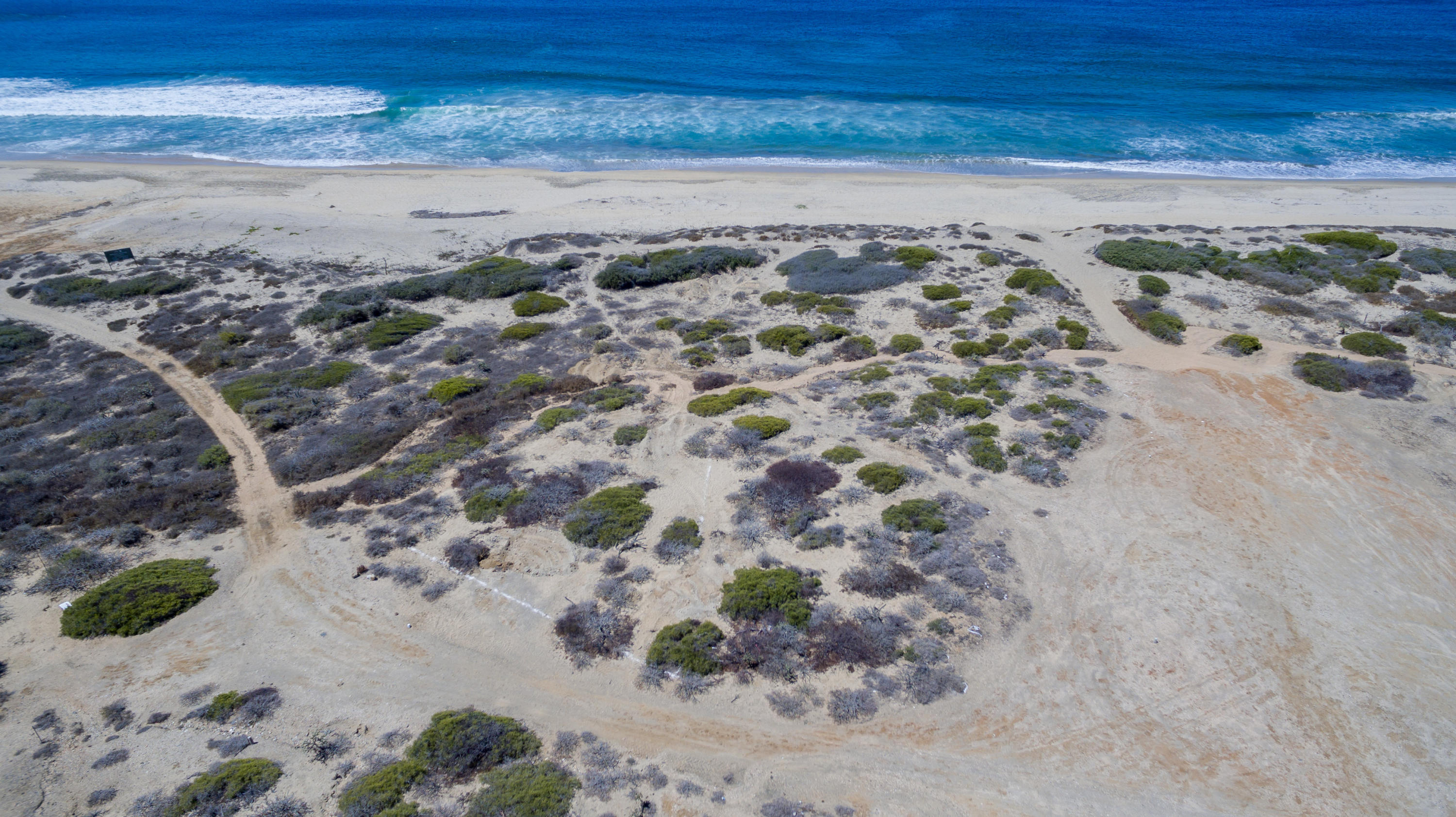 Rare Oceanfront Cerritos land  - primed and ready for beachfront home or dream project. easy walk to Cerritos Inn for breakfast or refreshments/snacks  - and just a stone throw from all year surf break and an endless summer beach that is home to an impressive list of marine flora and fauna.