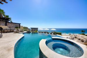 Jacuzzi, Pool, and Upper Terrace