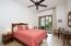 Spacious, comfortable guest bedroom