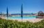 Sparkling pool and Sea views