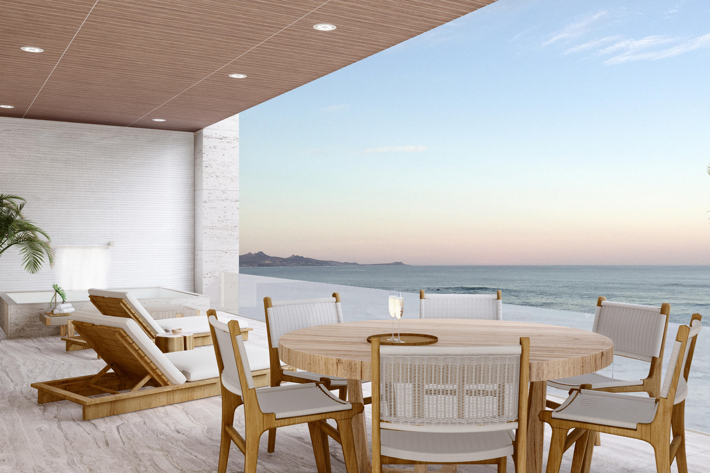 The Ocean Residences are the first oceanfront ownership opportunity in our community, bringing Querencia closer than ever to the Sea of Cortez. With spacious terraces, open floorplans and floor-to-ceiling glass doors, each airy residence is artfully planned to invite the seascape in. Let our team bring your vision to life with custom features or select an Ocean Residences signature design.