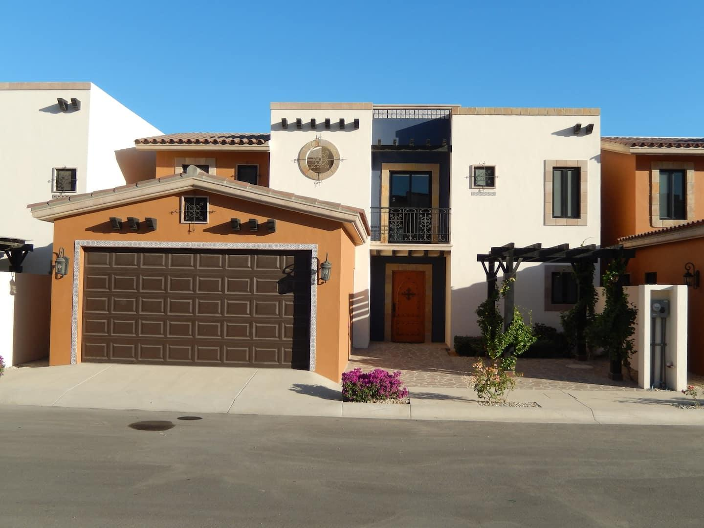 Very Rare Zuni Plan in Copala.  Front row with fabulous ocean views.  Enter the house and your see the spaciousness of a 20+ foot ceilings.  The house is repleat with outdoor kitchen, pool, jacuzzi, fire pit, fire place.  Tastefully decorated and ready to move in.