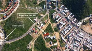Baja Coral Lot#15 - Aerial View from the Lot (Nearby Via de Lerry)