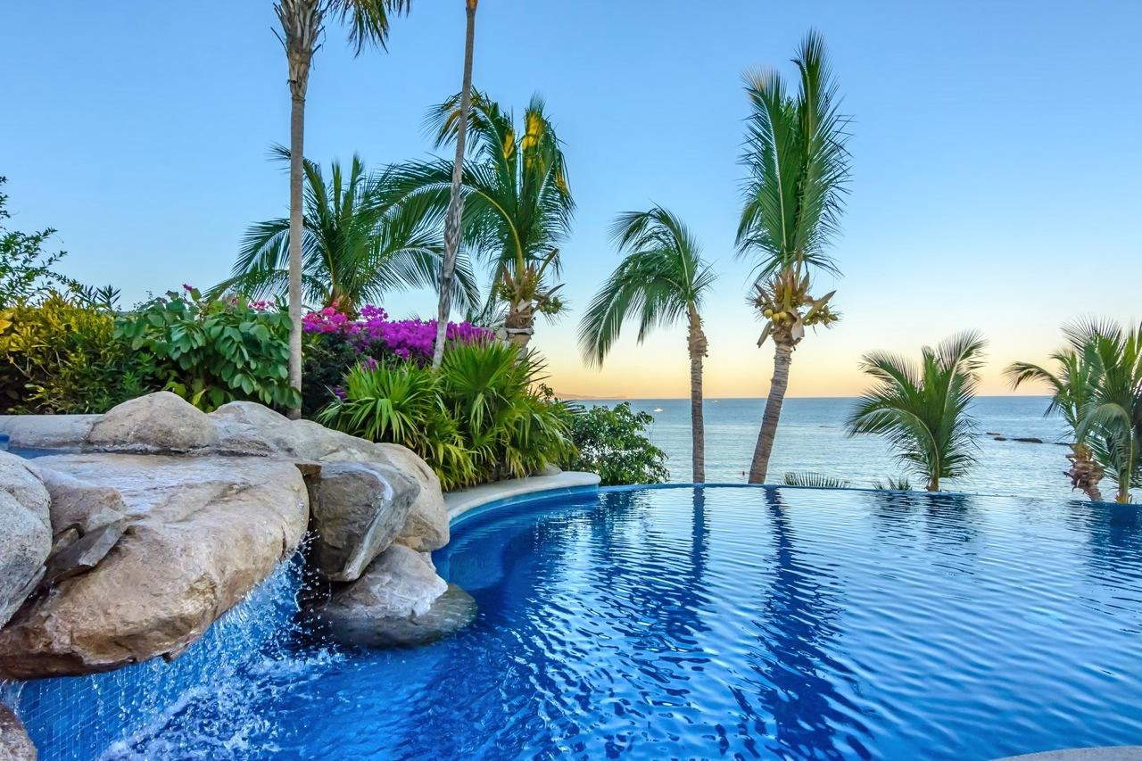 Oceanfront living in the legendary Palmilla style.