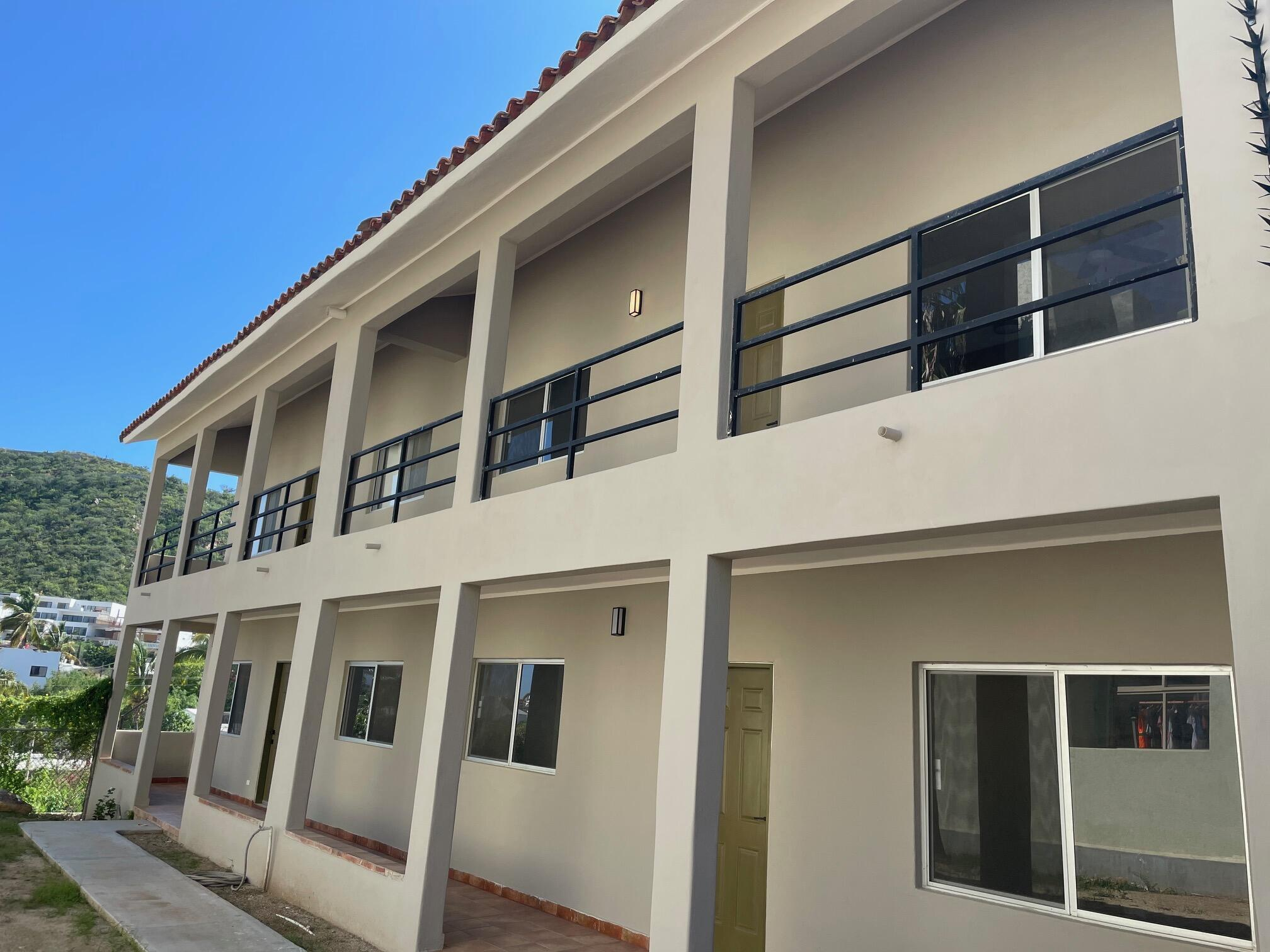 Location Location Location. This newly remodeled 4 units building located only a few blocks from the heart of Cabo San Lucas,  each has 2 bedrooms and 2 full bathrooms, excellent for vacation rental investment.NO HOA.