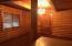 Dining room w/chandelier