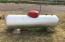 Leased propane tank