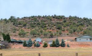 View of Lots from Flowing Springs Rd
