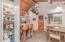 Kitchen pantry, breakfast bar & dining area