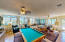 Great Room with Pool table that stays