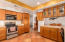 Custom Maple Cabinets with pull out drawers