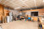 20'x20' shop with Radial Arm Saw and Wood Lathe, 100 gal Water Heater, softener, Hot Water Loop