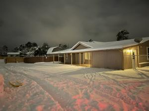 Snow at the home