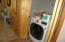 Laundry with LG Washer/Dryer Combo
