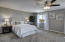 Absolutely massive master bedroom, with panoramic views.
