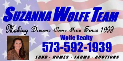 Wolfe Auction & Realty logo