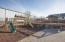 Rubber mulch in 31x38 playground area