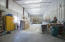 Painting room housed in 6-door garage