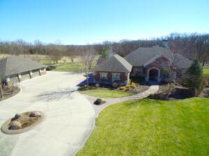 House & Detached Garage