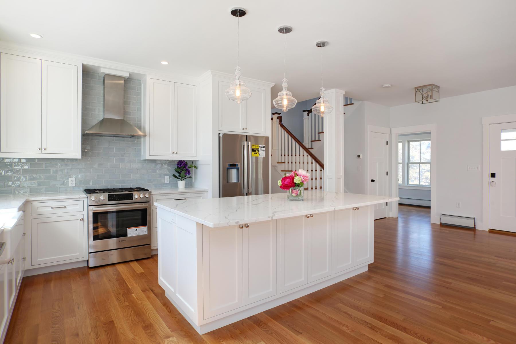 white wood kitchens sandwich ma Stonewater Real Estate