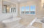 Second floor Master with soaking tub