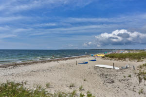 Your very own private sandy beach on the warm waters of Nantucket Sound