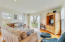 Cape House Living Room