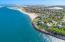 Aerial of Andrew Hardings Beach
