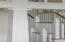 Custom detailed stair railings newel posts and balusters
