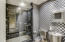 Stainless Steel bathroom with Steam Shower