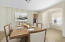 Dining Room Virtually Staged