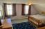Oversized 2nd level bedroom