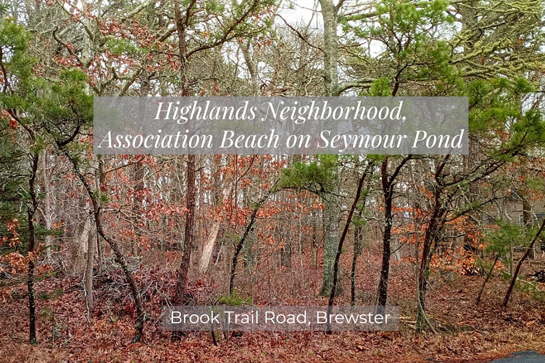 0 Brook Trail Road, Brewster MA, 02631 sales details