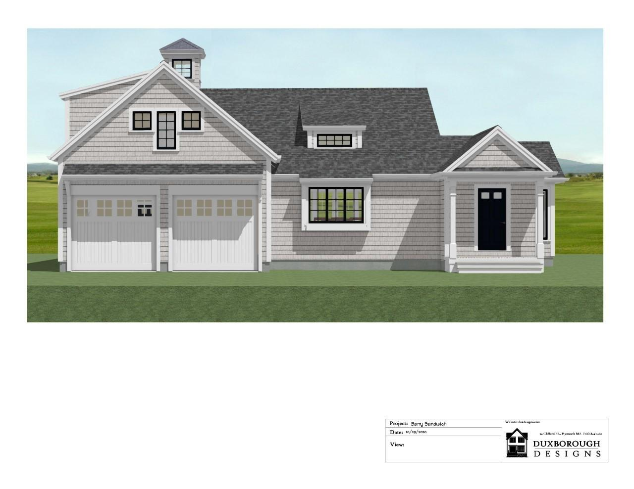 To Be Built in Sandwich's newest cul de sac, Lookout Ridge. This beautiful Cape Cod Webster Model home has the perfect coastal charm and open concept floor plan. Hardwood floors will gleam throughout the first floor. The open concept kitchen will have white shaker cabinets, stone countertops and stainless steel appliances. One side offers the master suite, with walk in closet, private bath with double vanity and tile shower. Upstairs is an ideal guest quarters with 2 bedrooms and a full bathroom. 4 bedroom septic, central air, propane gas heat. The 3 season room is a great addition. Taking reservations on additional lots.