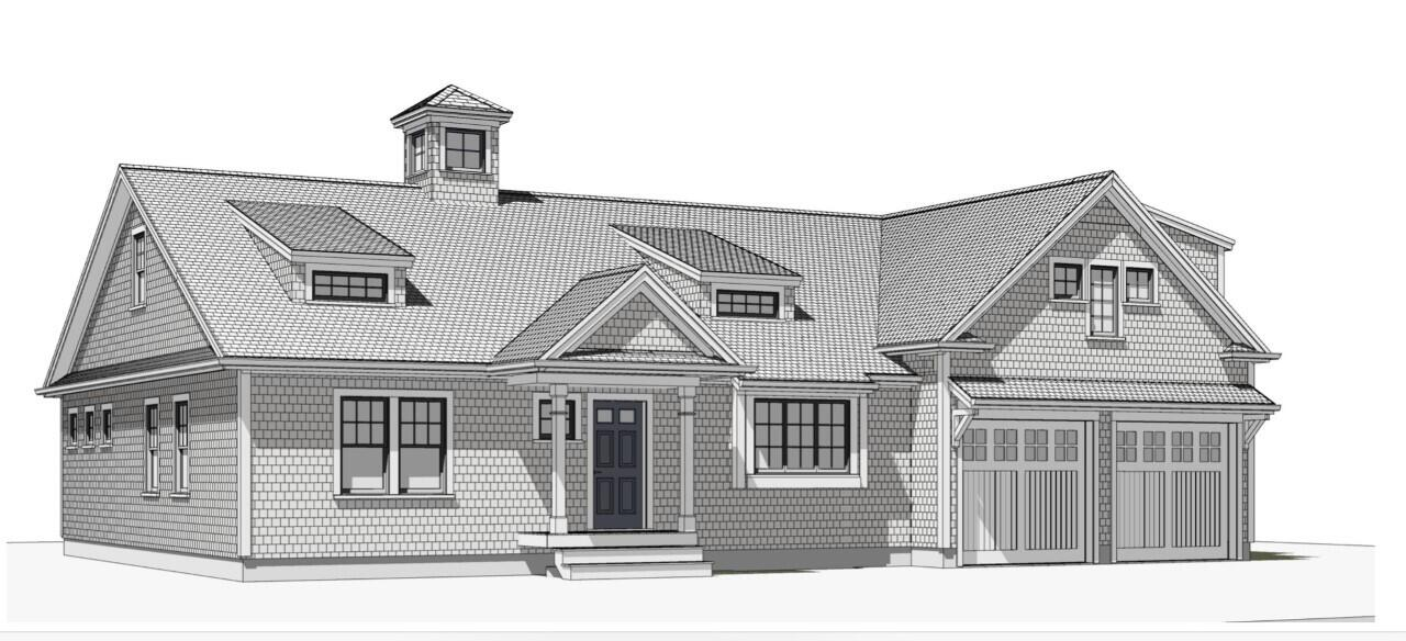 To Be Built in Sandwich's newest cul de sac, Lookout Ridge. This beautiful Cape Cod Heritage Model home has the perfect coastal charm and open concept floor plan. Hardwood floors will gleam throughout the first floor. The open concept kitchen will have white shaker cabinets, stone countertops and stainless steel appliances. One side offers the master suite, with walk in closet, private bath with double vanity and tile shower. Upstairs is an ideal guest quarters with 2 bedrooms and a full bathroom. 4 bedroom septic, central air, propane gas heat. The family room s room could be an ideal home office.  Ready for the New Year. Taking reservations on additional lots.