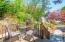 Cottage - rear deck overlooking gardens