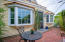 Exclusive patio