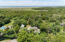 Aerial view of home and proximity to marsh and ocean