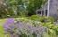 A glimpse of the perennial gardens