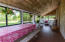 Screened in porch for dining