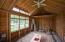 interior of outbuilding