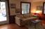 Detached cottage, living room