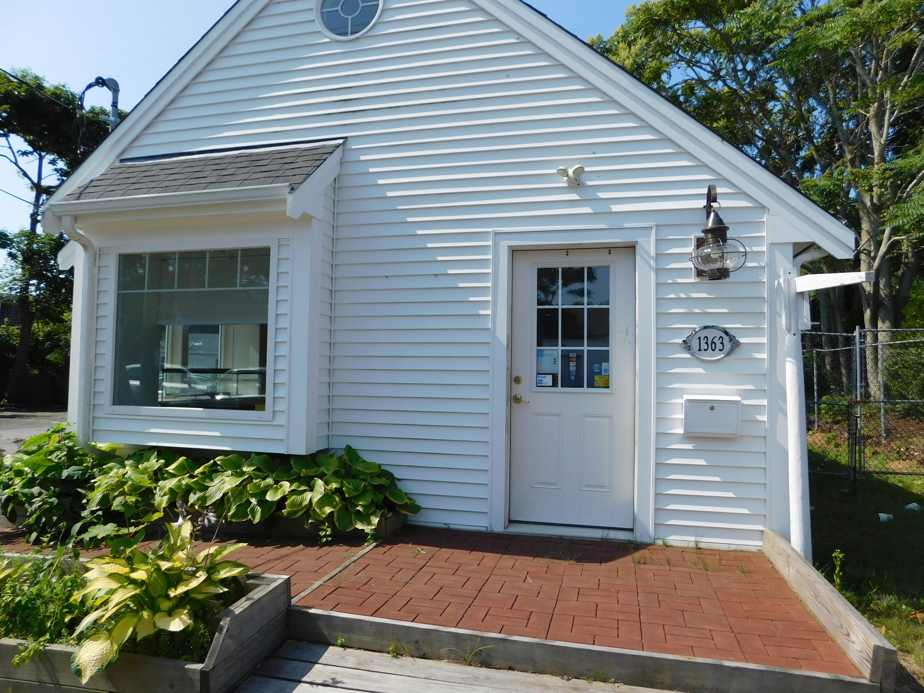 Opportunity to own Retail/Office space at one of the busiest intersections on Cape Cod. Put your business in this high-profile location. This lot consists of two buildings plus two outbuildings. #1361 was built new in 2015. It features over 900 sq Ft. of workspace. Handicap accessible, plenty of parking, central air conditioning, security, and fire alarm systems installed. New septic system in 2015. Large full basement with plenty of room for inventory or storage. The second building, #1363, has 544 sq. Ft of space and is ready to be renovated for more retail/office space. #1363 needs work, and this is reflected in the listing price. The property is very close to the Bass River and the new waterfront park. Buyers/buyers agent to verify all information contained herein. Buyer agent/facilitators must be present all showings.
