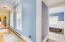 hallway off the 4th bedroom
