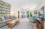 Large living room with Rainai gas heater.